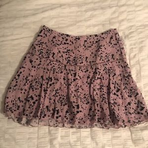 Aritzia (Sunday best) Floral Skirt